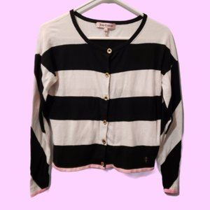 Juicy Couture Cotton/Silk Blend Cardigan